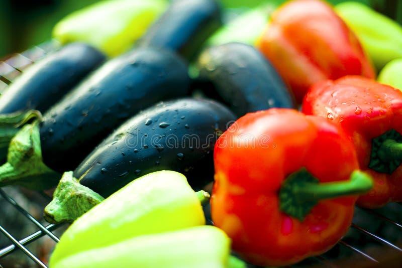grill veggie fotografia stock