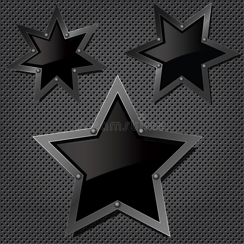 grilla gwiazd tekstura ilustracja wektor