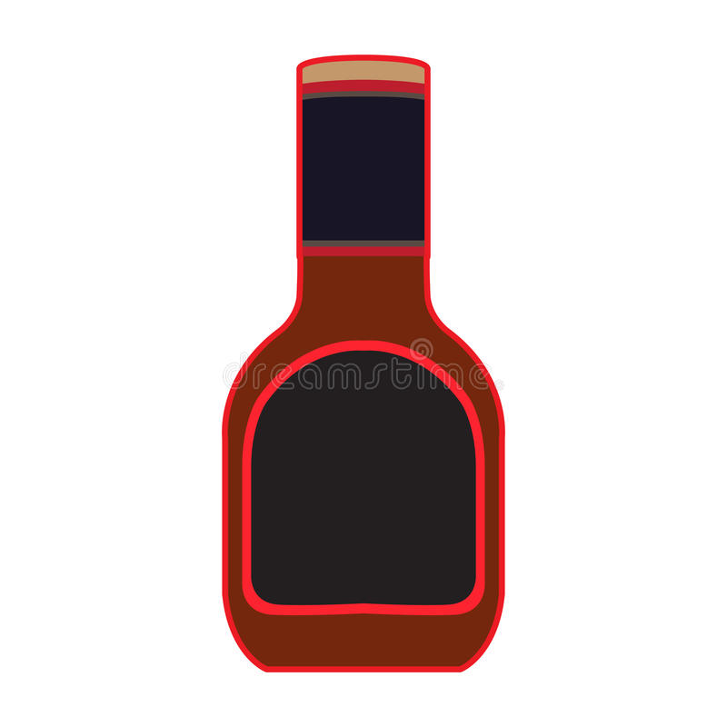 grilla kumberlandu butelka ilustracji
