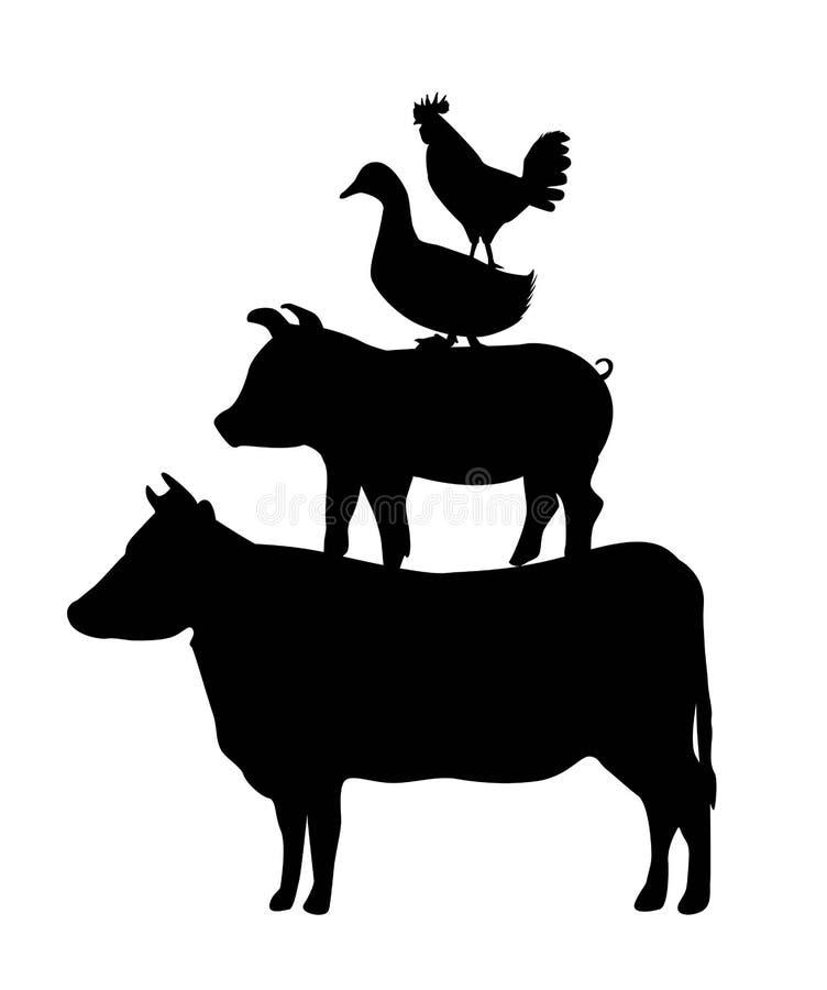 Grilla menu royalty ilustracja