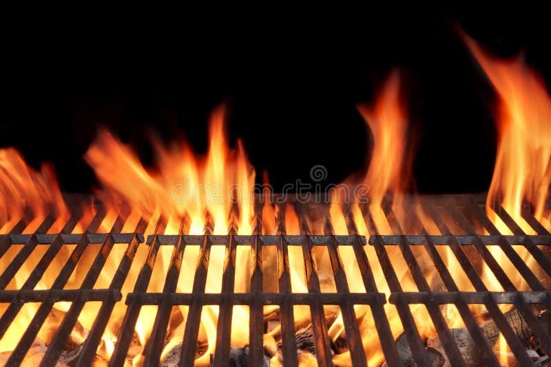 Grilla ogienia grill zdjęcia stock