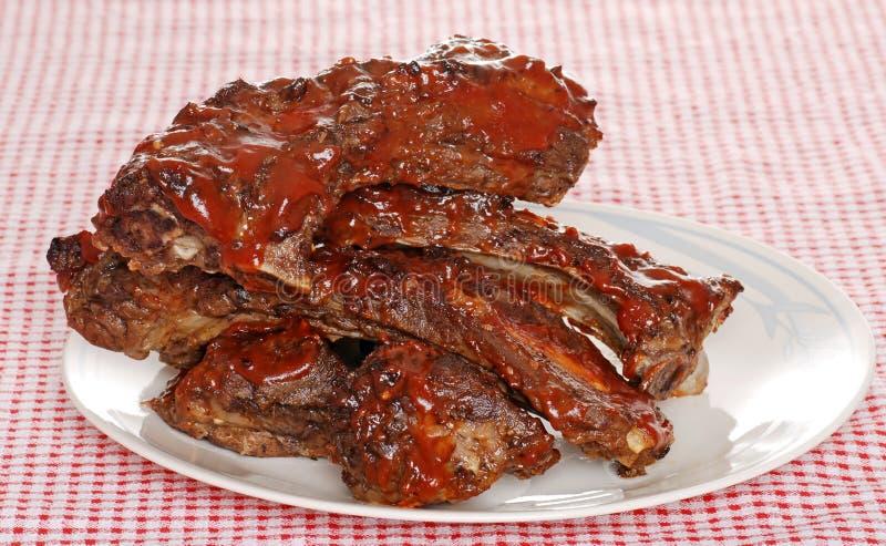 grilla wołowiny ziobro kumberlandu części zapasowej sterta zdjęcie royalty free