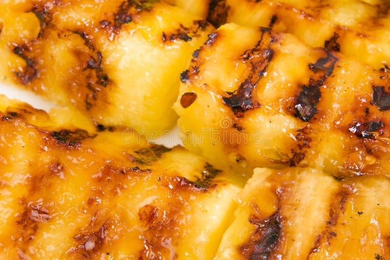 Grillad ananas arkivfoton