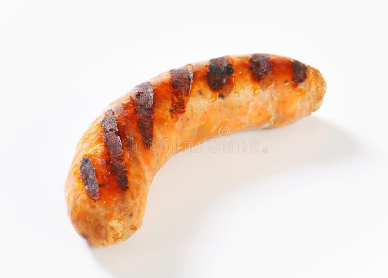 grillad bratwurst royaltyfri foto