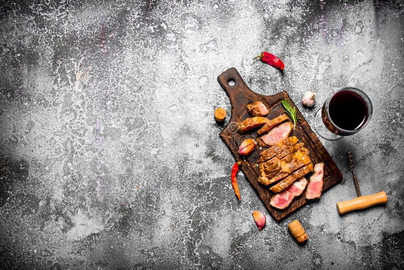 grillad meat arkivbilder