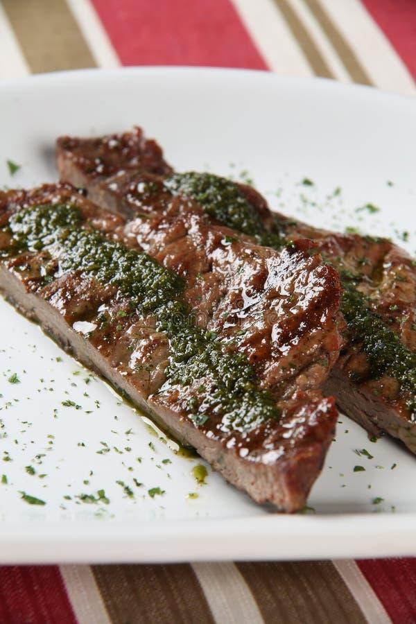 grillad meatplatta royaltyfri fotografi