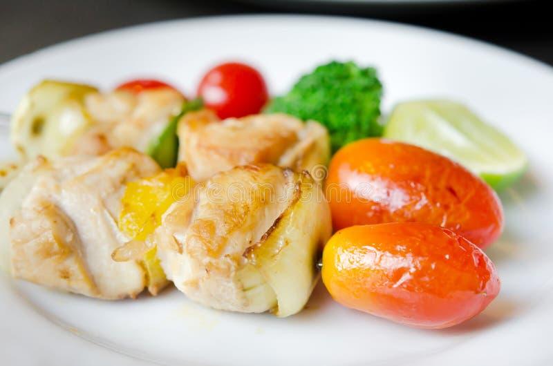 Download Grillad pork arkivfoto. Bild av lök, meat, pork, näring - 27275040