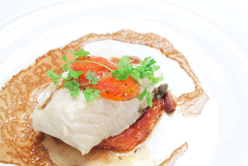 Download Grillad Snowfisk Med Brun Sås Arkivfoto - Bild av cooked, chinook: 27278510