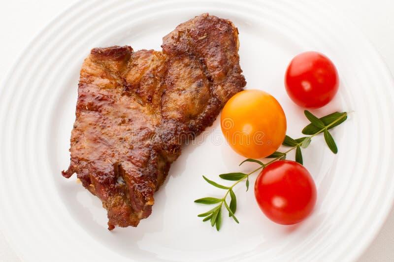 grillad steak fotografering för bildbyråer