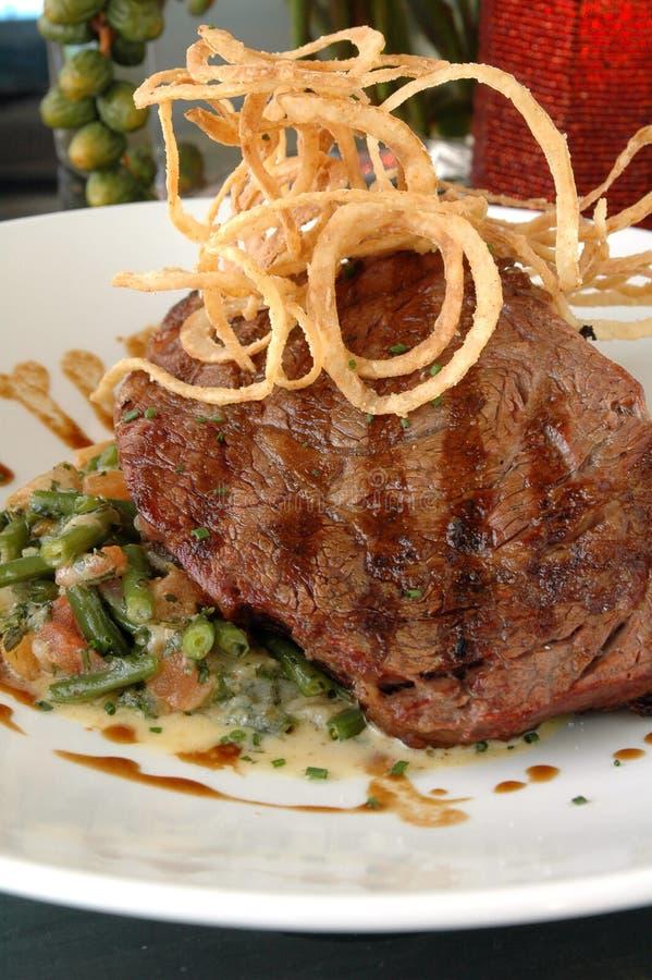 grillad steak arkivfoton