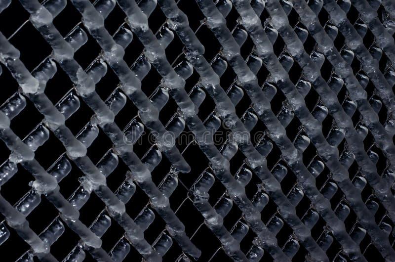 Grillage congelé photos libres de droits