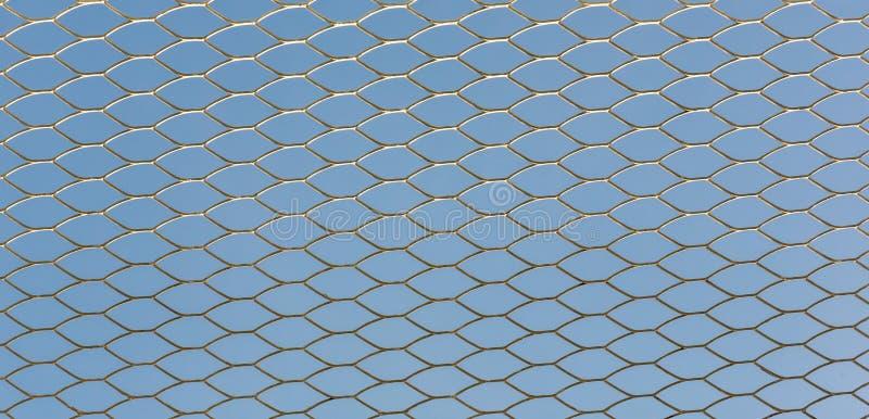 Grillage de fer Fond de texture de rouille de grils de barri?re Barri?re Steel Background image stock