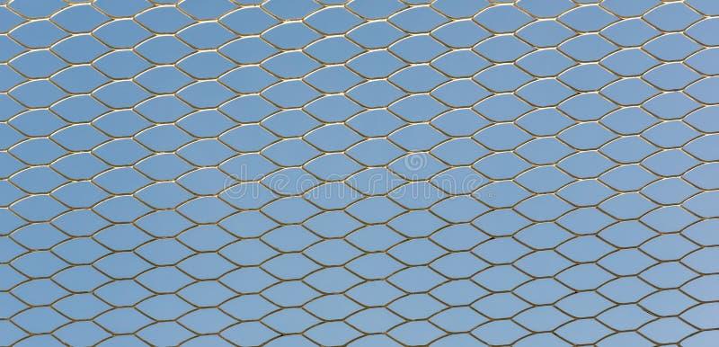 Grillage de fer Fond de texture de rouille de grils de barri?re Barri?re Steel Background photo libre de droits