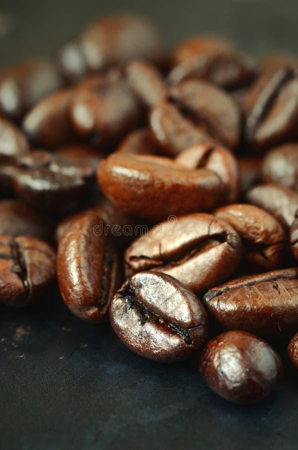 grillat bönakaffe royaltyfria foton