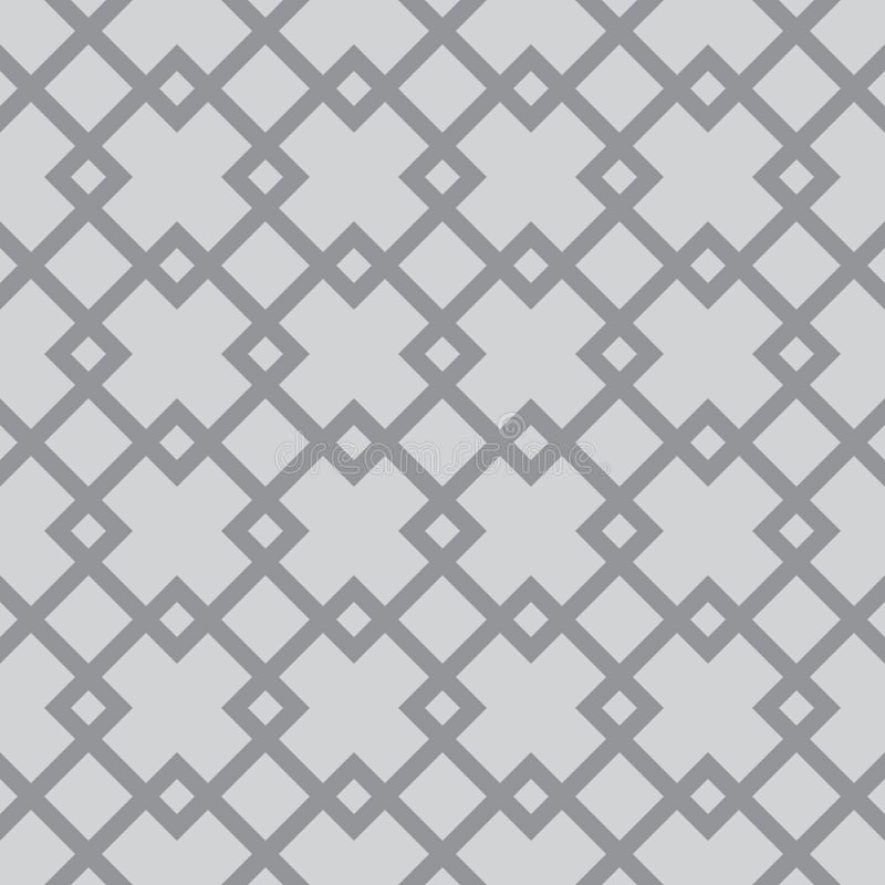 Grille continue de vecteur avec des places illustration de vecteur