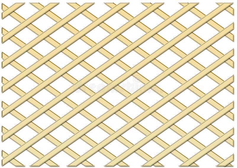 Grille d'or illustration de vecteur