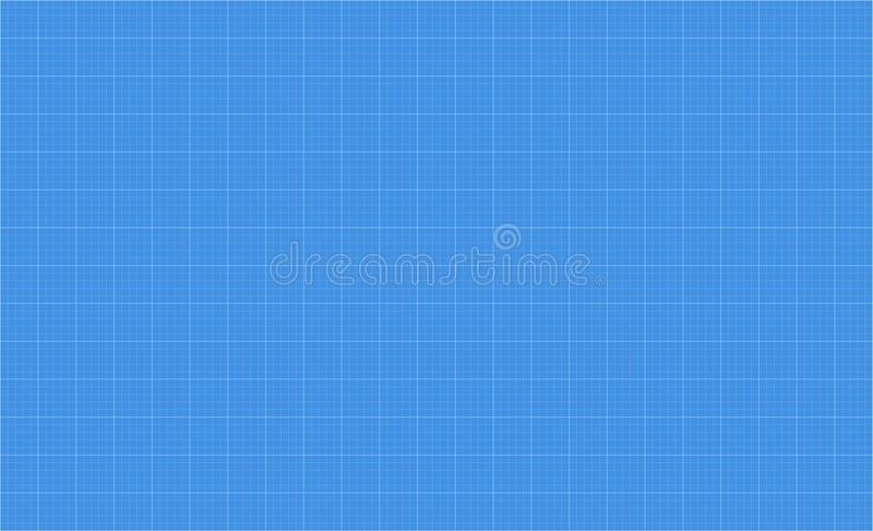 Grille de modèle de papier de graphique illustration de vecteur