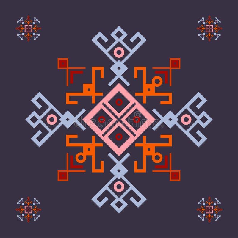 Grille de symbole illustration de vecteur