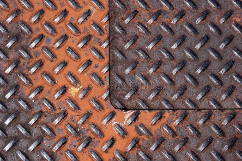 Download Grille en métal photo stock. Image du manufacturé, renforcé - 90542