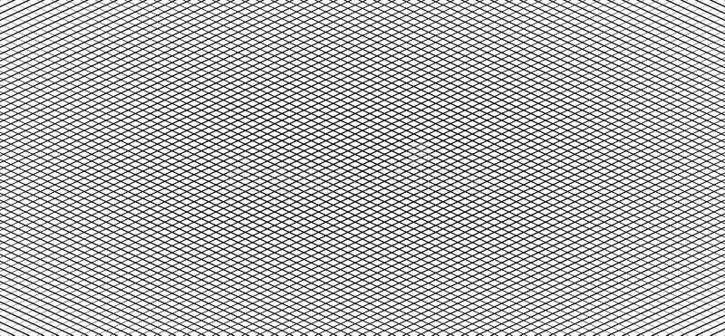 Grille irrégulière, modèle de maille, texte géométrique monochrome abstrait illustration de vecteur