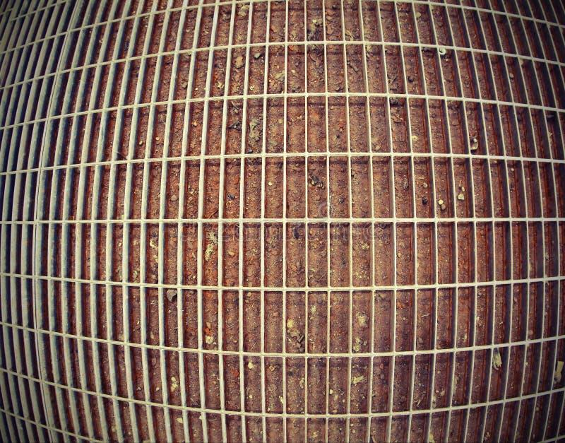 Grille large en métal images stock