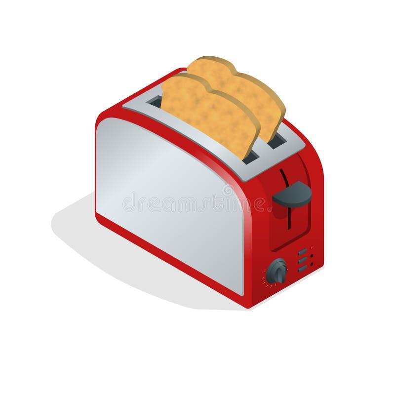 Grille-pain Avec Du Pain Conception Moderne Du Grille-pain De Pain ...