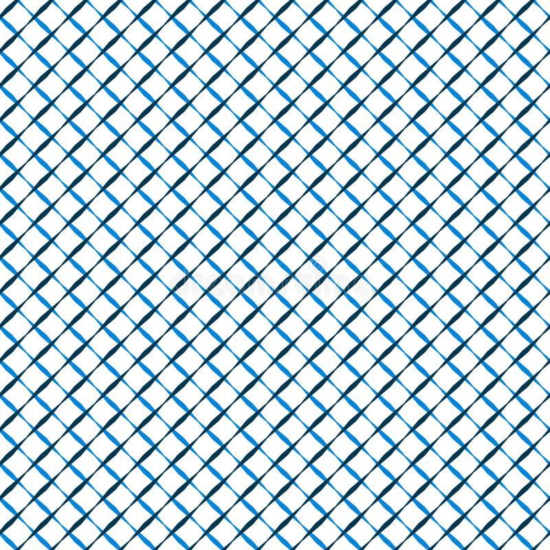 Grille qu'on peut répéter, modèle de maille Étable réticulaire et cellulaire géométrique illustration stock