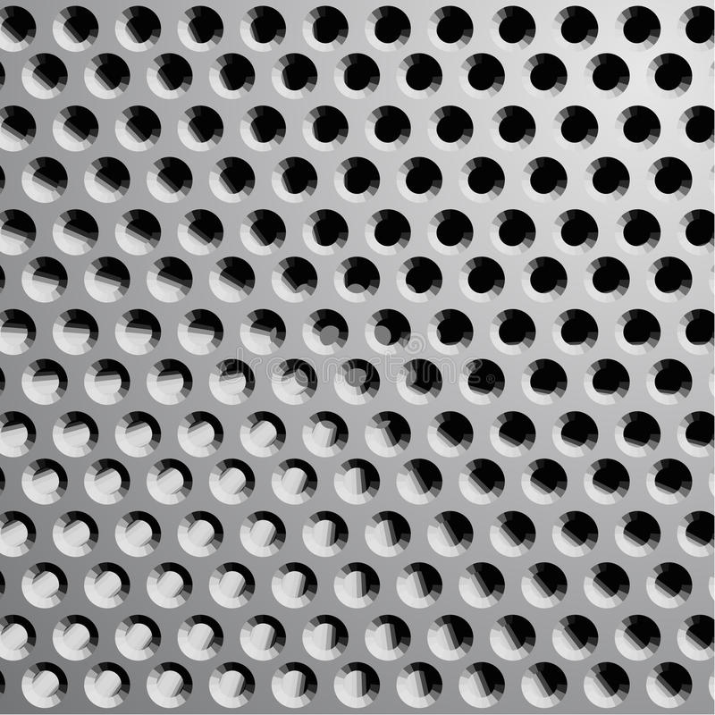 Download Grille wallpaper stock vector. Image of grey, network - 23678321