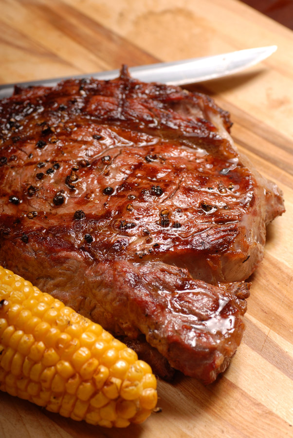 Download A grilled BBQ ribeye steak stock image. Image of food - 2900211