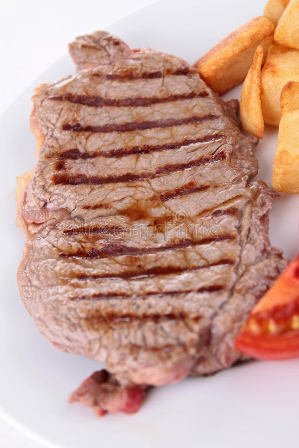 Download Grilled beef stock image. Image of loin, cooked, meal - 28662849