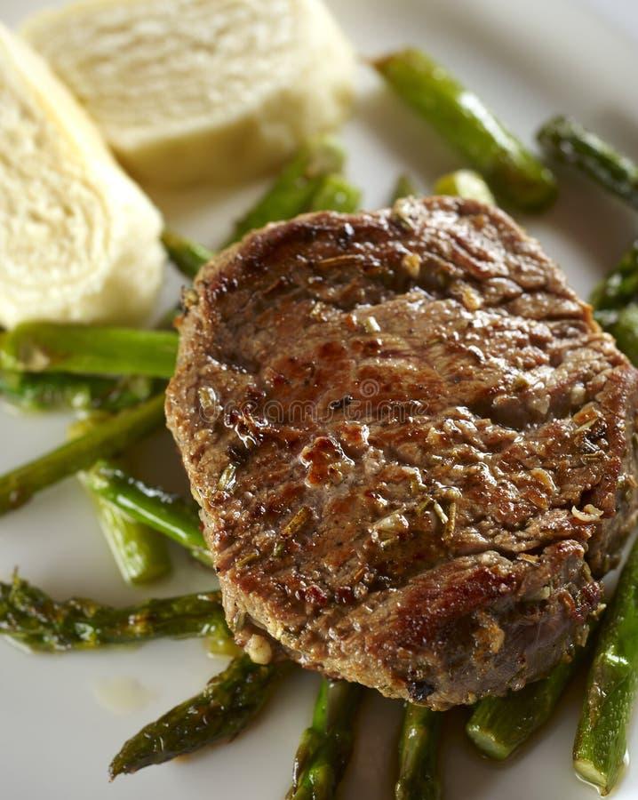 Download Grilled beefsteak stock image. Image of background, snack - 26819593