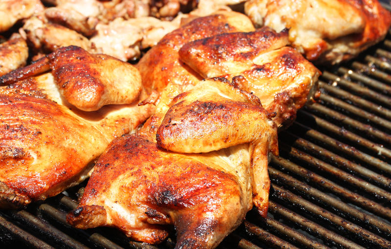 Grilled Chicken Stock Images