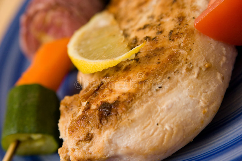 Download Grilled Chicken stock image. Image of healthy, barbecue - 2206299