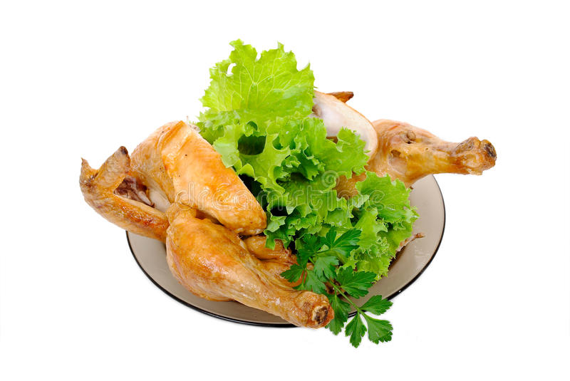 Download Grilled Chicken With Fresh Vegetables Stock Image - Image: 20932319