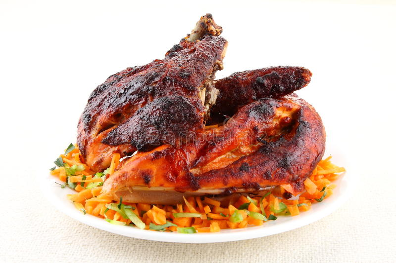 Grilled chicken from Indian cuisine 1 royalty free stock image
