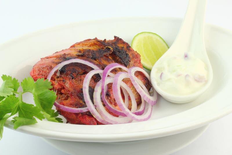 Grilled Chicken Tandoori stock photos