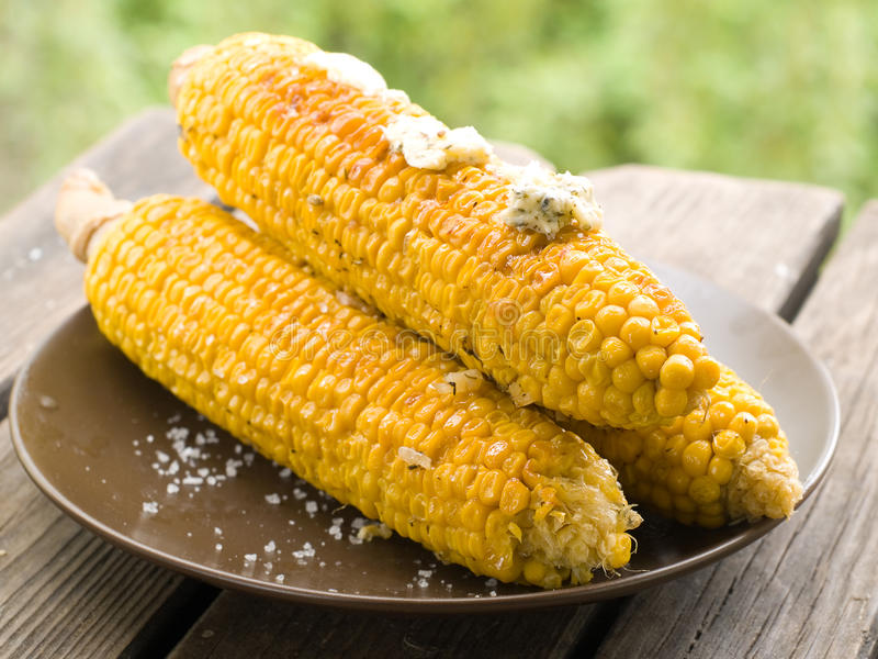 Download Grilled corn stock photo. Image of healthy, nobody, closeup - 26352808