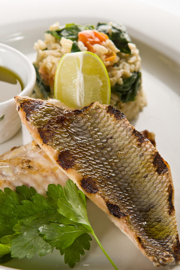 Free Grilled Fish Royalty Free Stock Image - 9531206