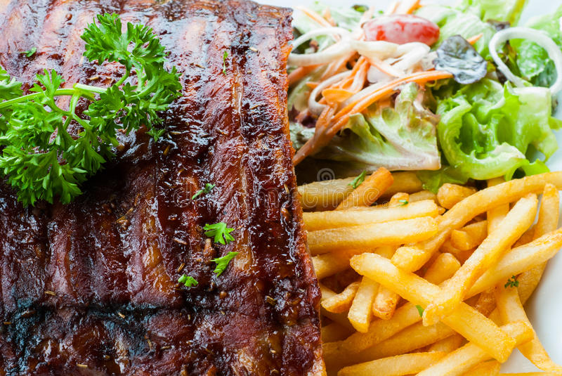 how to cook a juicy pork ribs