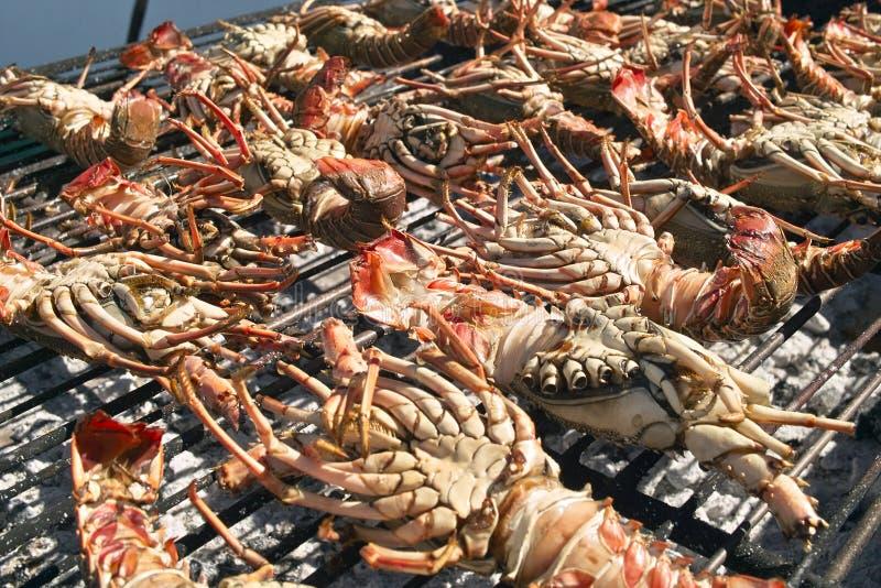 Download Grilled lobsters stock photo. Image of taste, wood, street - 27554812