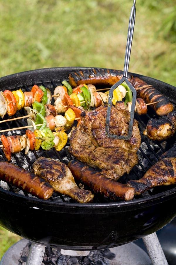 grilled meat pork στοκ εικόνα