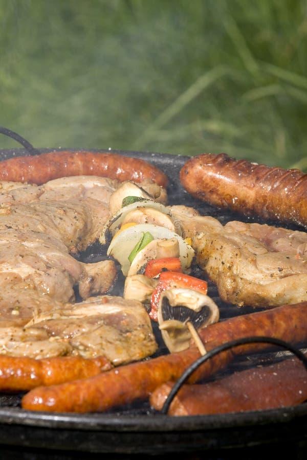 grilled meat pork στοκ εικόνα με δικαίωμα ελεύθερης χρήσης