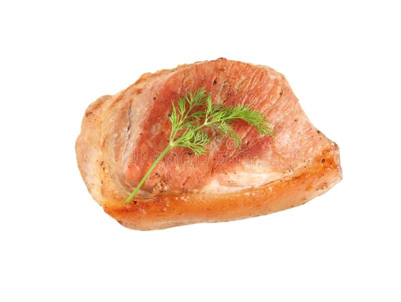 Grilled Pork stock images