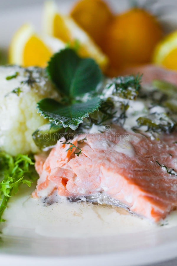 Download Grilled salmon steak stock image. Image of healthy, nutrition - 29517091