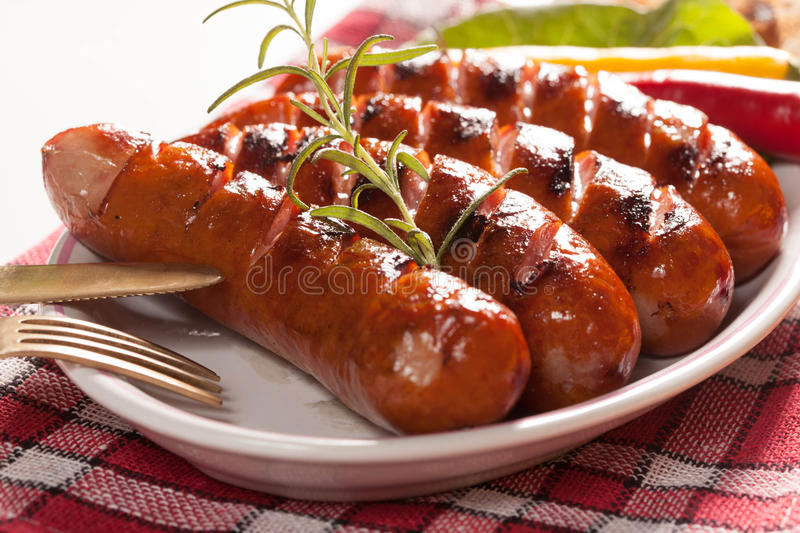 Download Grilled Sausage. Stock Photo - Image: 43603603