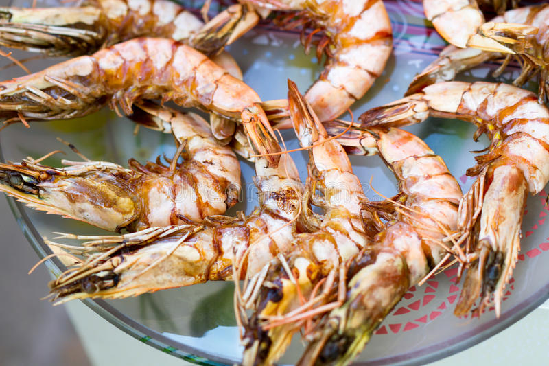 Download Grilled shrimp stock image. Image of fire, barbecue, readytoeat - 39500533