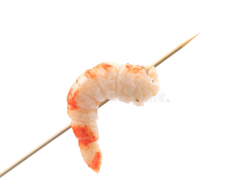 Download Grilled Shrimps On A Stick. Stock Photo - Image: 38458932