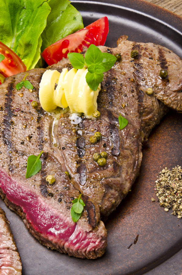 Download Grilled Steak. Barbecue Stock Photography - Image: 25793312