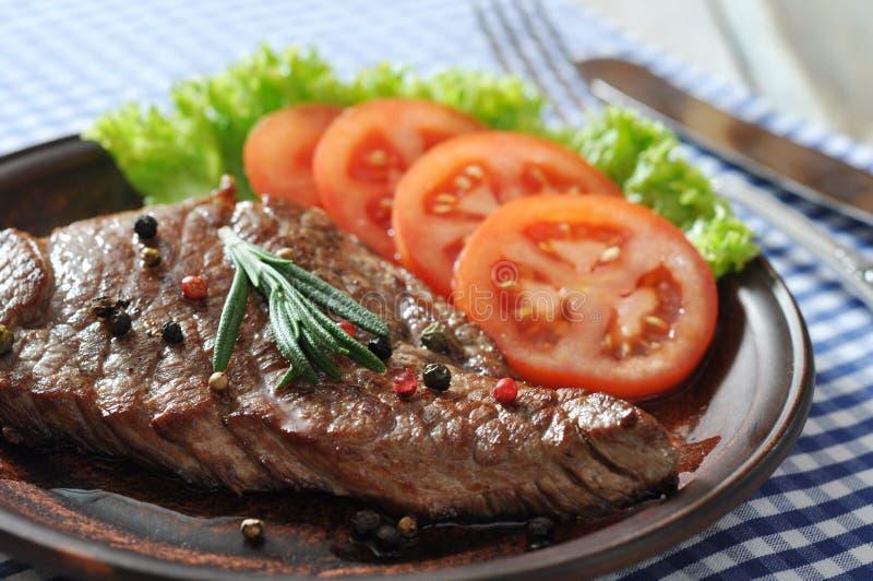 Download Grilled steak stock image. Image of fillet, grill, meat - 35466867