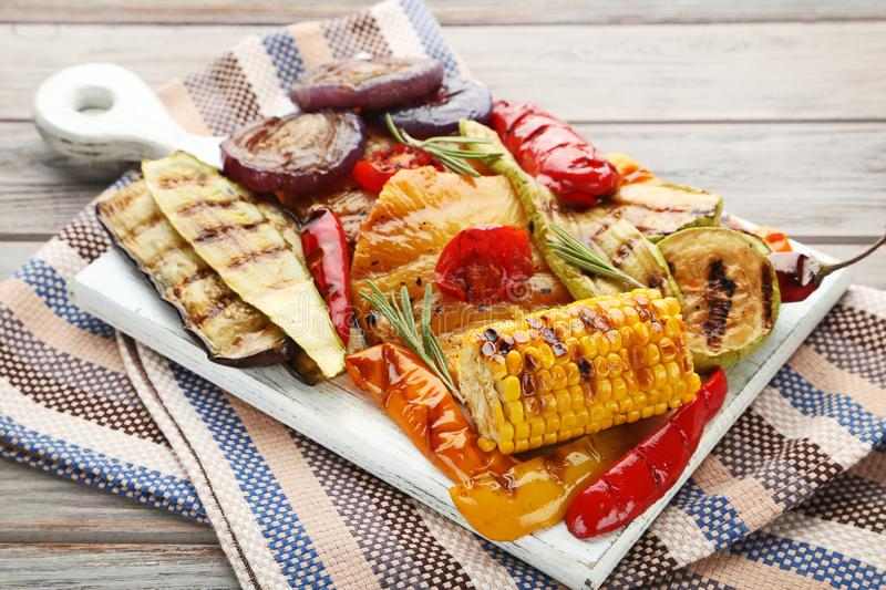 Grilled vegetable royalty free stock photography